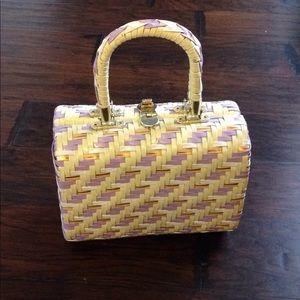 Vintage Wicker Handbag